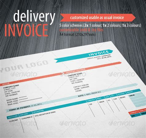 creative invoice template 20 creative invoice template designs web