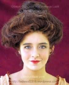 how to gibson girl hair edwardian victorian vintage retro 51 best edwardian makeup images on pinterest beauty