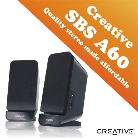 Speaker Aktif Creative Sbs A60 creative sbs a60 2 0 speaker end 4 18 2018 3 15 pm myt