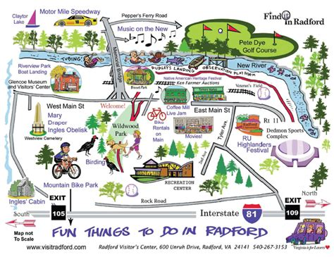 map activity activity maps radford va