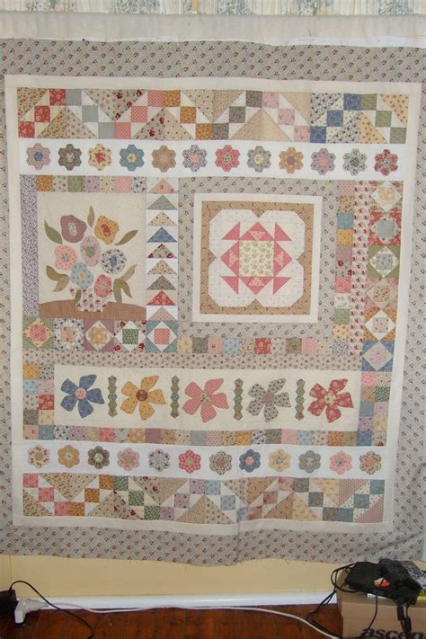 Country Patchwork Quilts For Sale - gretel s garden quilt galong patchwork retreat 2014