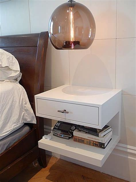 Wall Mounted Bedside Best 25 Wall Mounted Bedside Table Ideas On