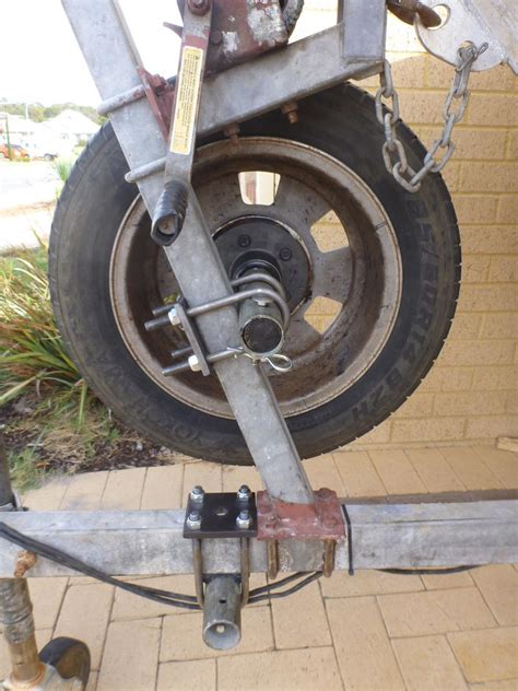 boat trailer spare wheel holder diy rolling trailer spare and beach launch wheel fishing