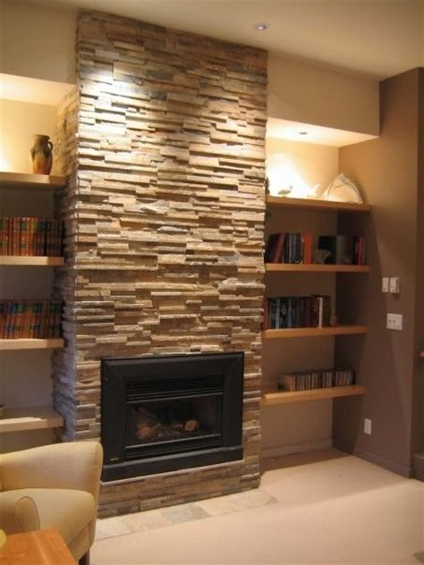 Alcove In Our Basement Basement Ideabook Pinterest Shelves Next To Fireplace