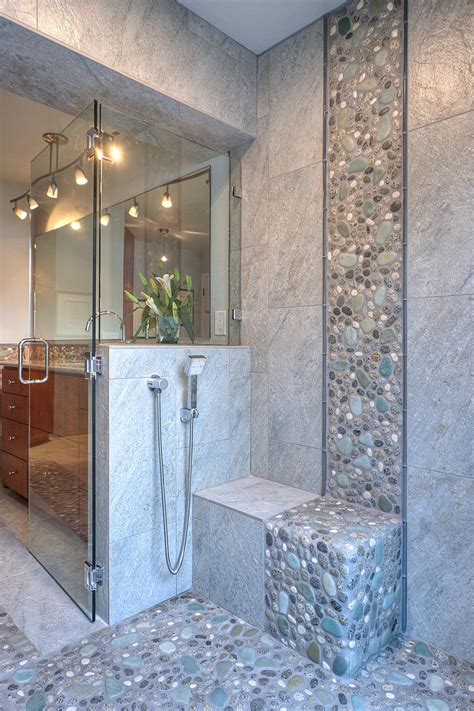 Popular Bathroom Tile Shower Designs 2015 Nkba S Best Bathroom Bathroom Ideas Designs Hgtv