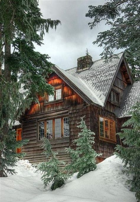 cabin in the snow cabin fever pinterest