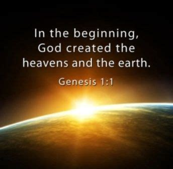 genesis pictures bible in the beginning god created the heavens and the earth