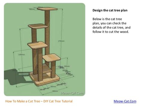 how to make trees how to make a cat tree with solid wood
