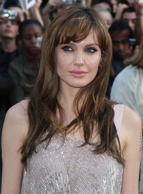 brunette hairstyles with side fringe 22 fantastic brunette hairstyles for women pretty designs