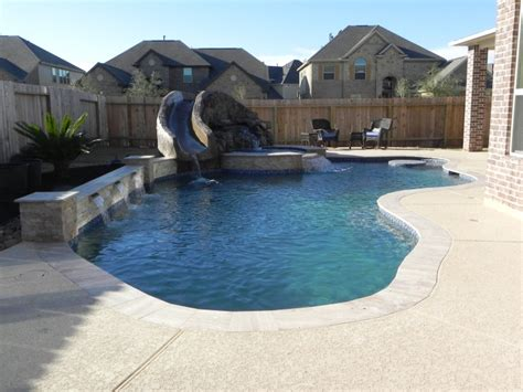 Backyard Pools Cypress Freeform Pools Cypress Freeform Swimming Pool