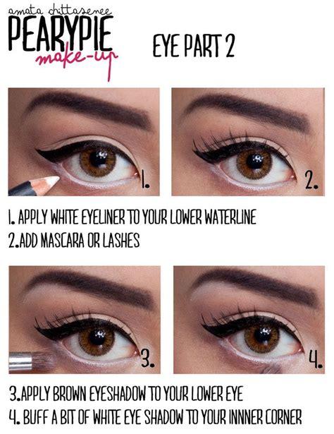 eyeliner tutorial bottom applying lower eyeliner makeup tips saubhaya makeup
