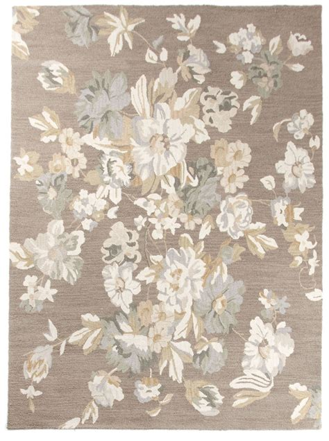modern floral rugs beautiful wool area rug 8x10 contemporary modern floral handmade brown