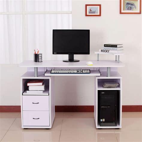 white high gloss computer desk buy computer desk