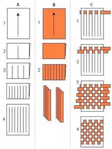 How To Make A Paper Weave Basket - 25 best ideas about paper weaving on