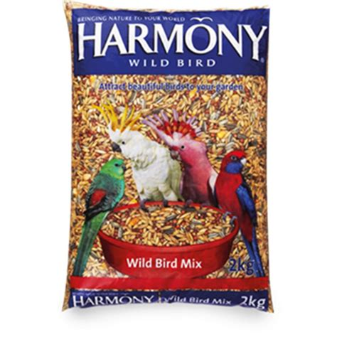 harmony wild bird seed mix