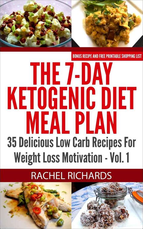 keto diet recipes keto meal plan keto cooker books the 7 day ketogenic diet meal plan 35 delicious low carb