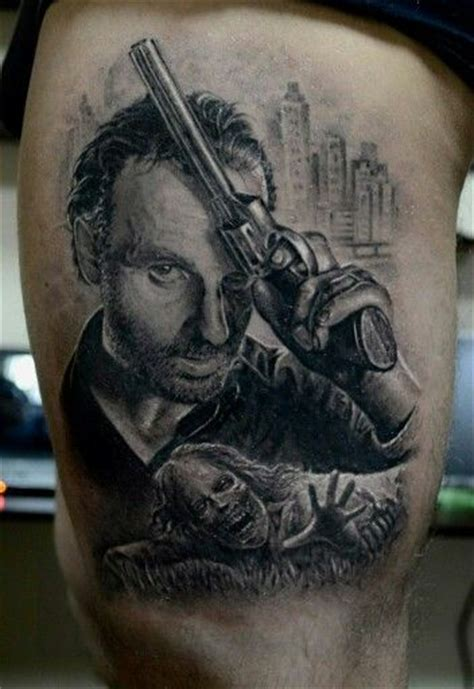 walking dead tattoo 17 best images about tattoos on rick grimes