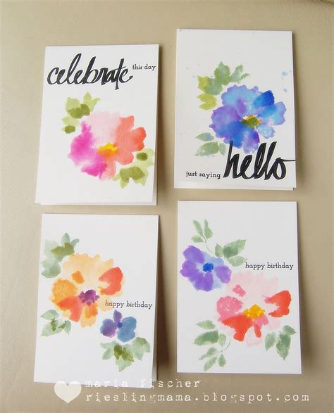 Handmade Greetings Ideas - card ideas and tips for handmade greeting cards