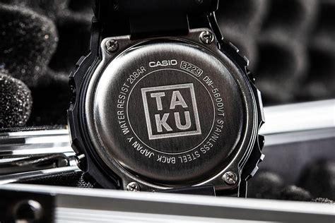 Tëx Ta Ku X G Shock Dw5600ta Ku 1d Collaboration G