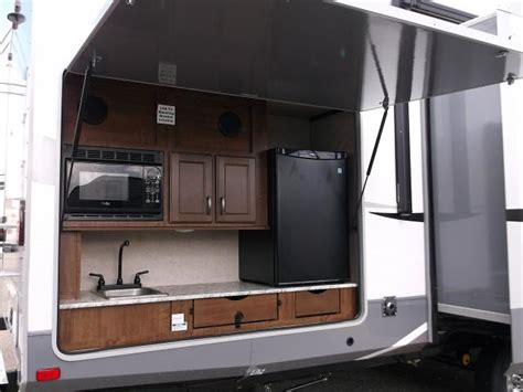 slide out kitchen cer travel trailers with outdoor kitchens 28 images small