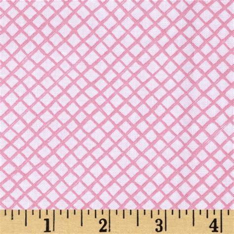 trellis fabric up and away trellis pink discount designer fabric