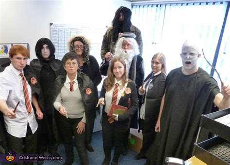 harry potter group costume diy costumes