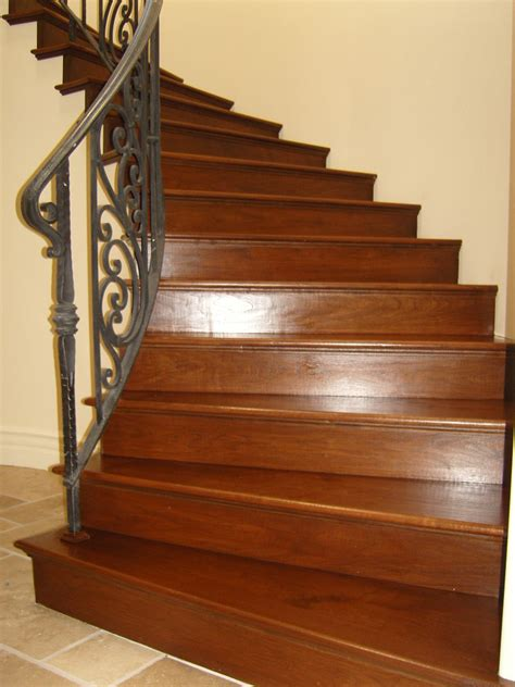 Hardwood Floor Stairs Hardwood Floors Installation Finishing Refinishing M F Hardwood Floors