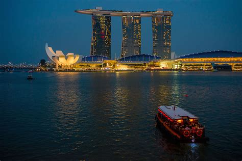 top tourist attractions  singapore   map