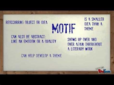 theme motif exles 1 38 video explaining theme vs motif ed read read