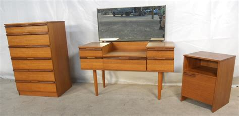 1960s furniture retro teak 1960 s bedroom set by avalon