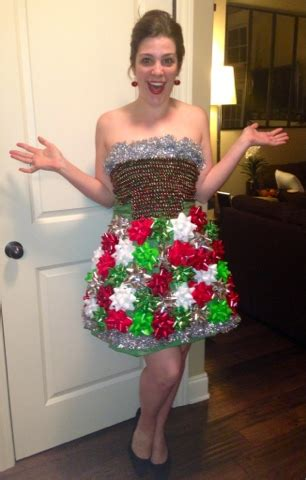 crazy in crafts: diy ugly christmas dress