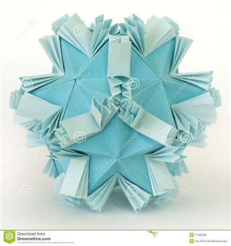 Snow Origami - origami snow stock illustration image of memorable color