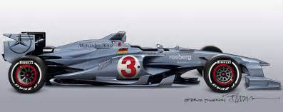 2014 mercedes f1 concept in my headlights