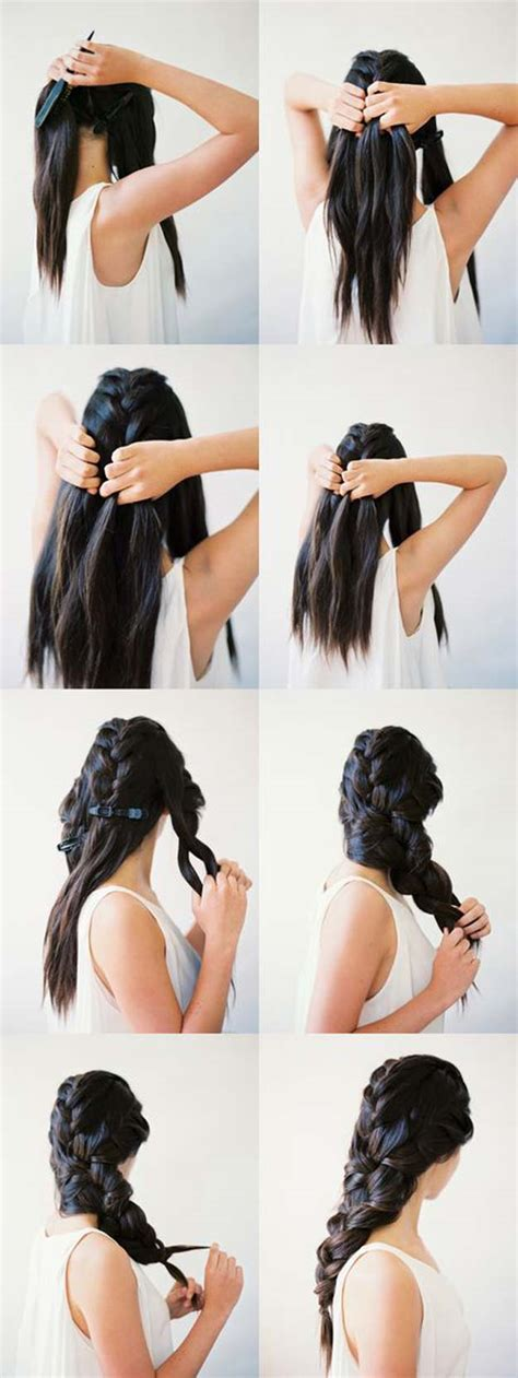 fantasy hairstyles step by step 41 diy cool easy hairstyles that real people can actually