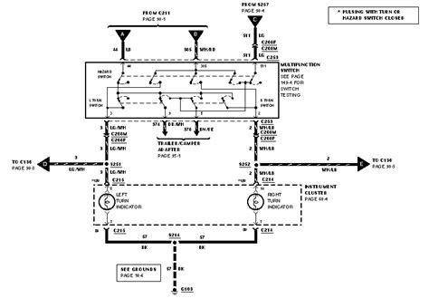 2004 mustang multifunction switch wiring wiring diagrams