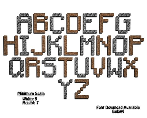 free printable minecraft alphabet letters minecraft letter a 04 all things minecraft pinterest