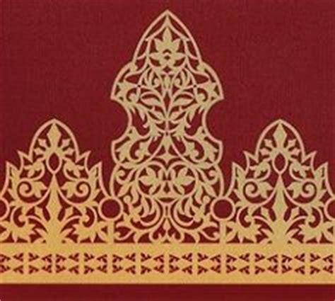 Batik Batik Riau motif pucuk rebung melayu riau architectural ornament