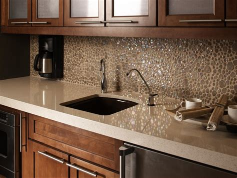best countertops for kitchen, White Quartz Countertop With