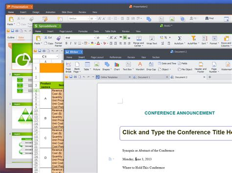 The Office For Free by Kingsoft Office Suite Free 2013 Chip