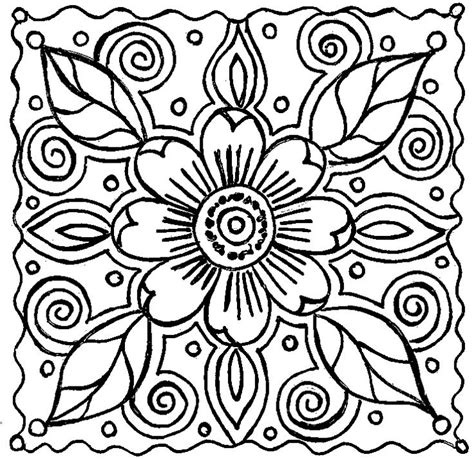 abstract pattern names abstract flower coloring pagespin by linda sangiorgio on