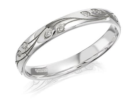 white gold wedding rings f hinds jewellers