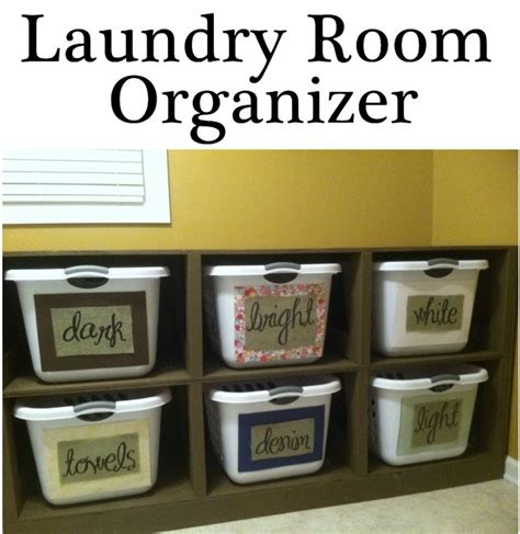 Laundry Room Organizers And Storage Laundry Room Organizer Organize And Inspire