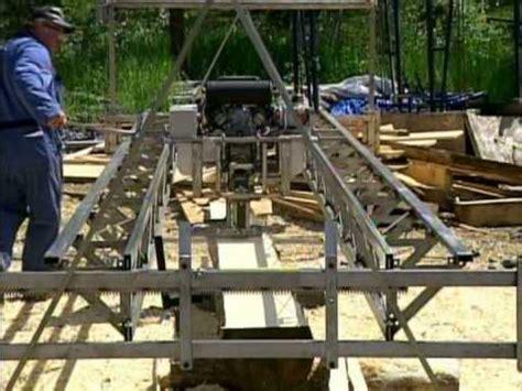 swing sawmill plans d l ecosaw youtube