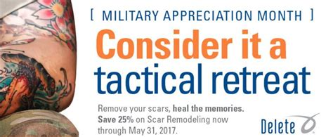 free tattoo removal for military laser removal news delete removal