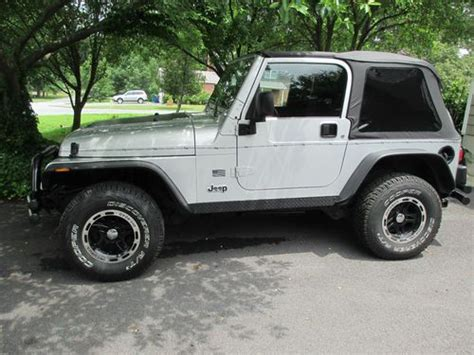 2004 Jeep Wrangler Soft Top Find Used 2004 Jeep Wrangler Rocky Mountain Ed Top
