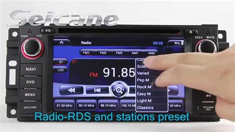 Jeep Wrangler Touch Screen Radio Android 4 2 Touch Screen Jeep Wrangler Unlimited