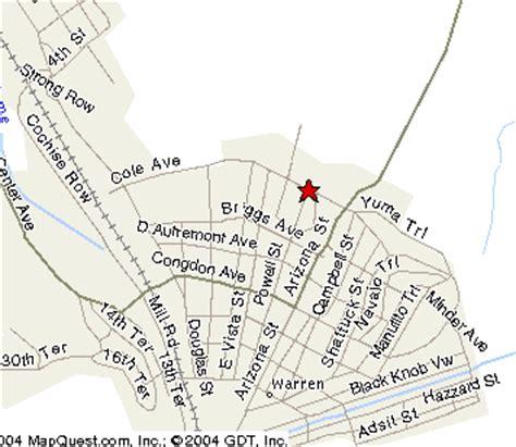 bisbee az map the calumet arizona guest house