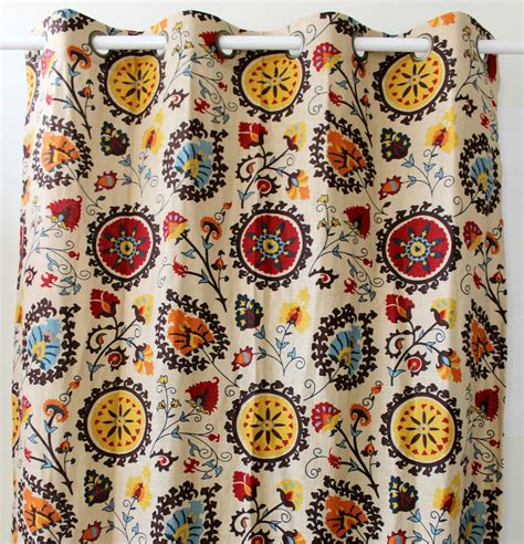 vintage pattern curtains new wholesale vintage pattern linen window ready curtains