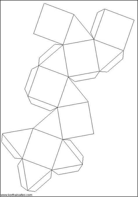 figuras geometricas recortables recortables de figuras geom 233 tricas cubooctaedro figuras