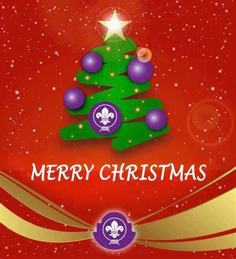 merry christmas  sevenoaks scout group